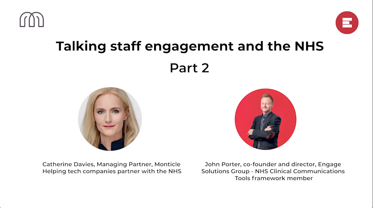 Talking staff engagement and the NHS part 2