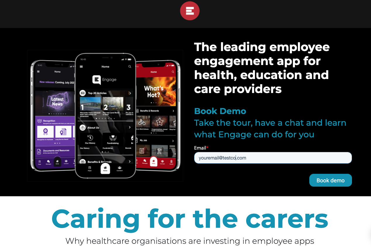 Private healthcare trending for Engage