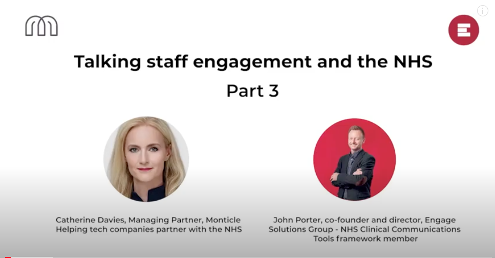 Talking staff engagement and the NHS - Part 3