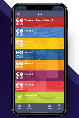 Change Catalyst app, powered by Engage