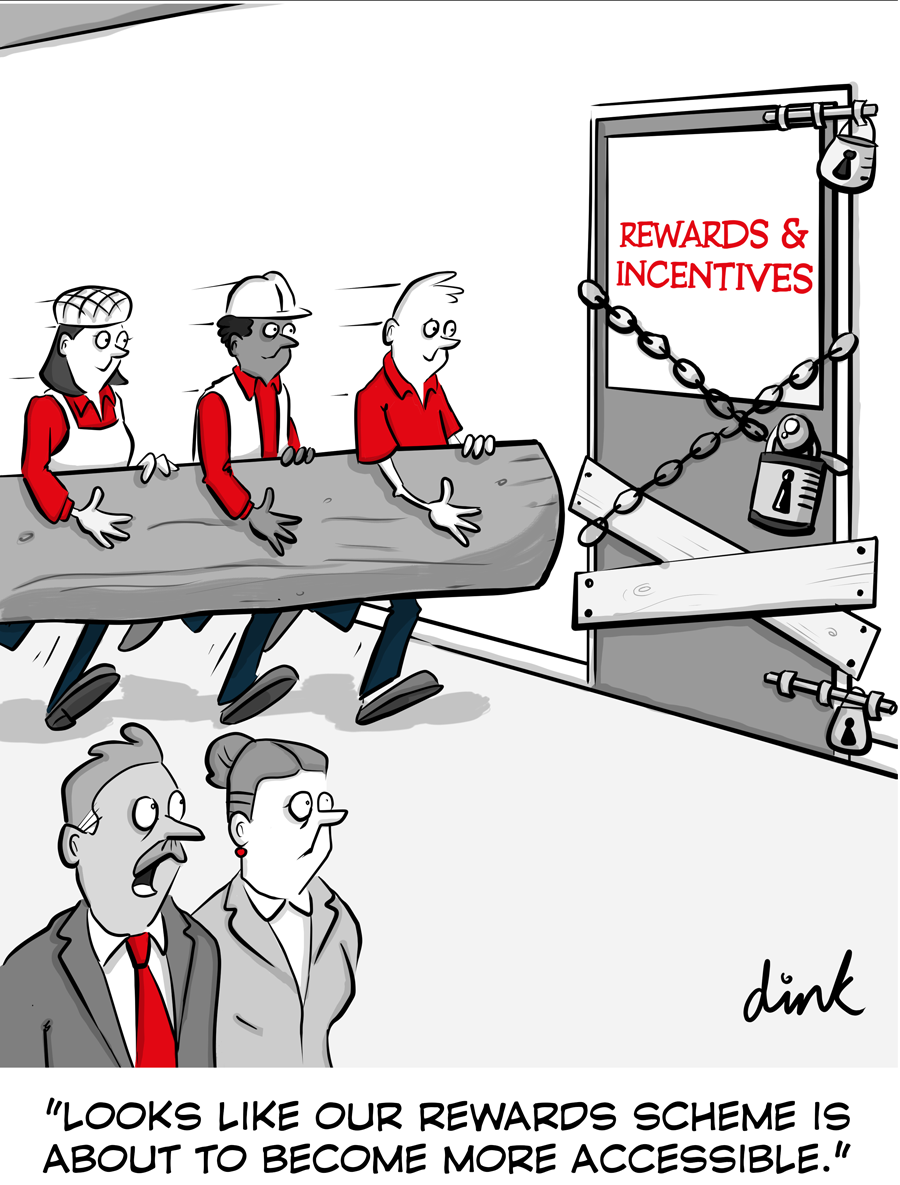 Rewards cartoon